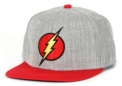 The Flash- Logo Snapback Hat