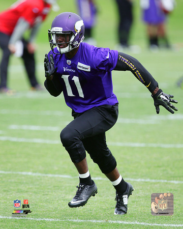 Laquon Treadwell 2016 Mini-Camp Action Photo