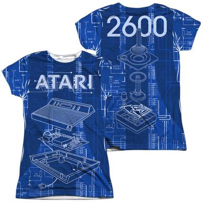 Juniors: Atari- Game Machine (Front/Back) T-shirts