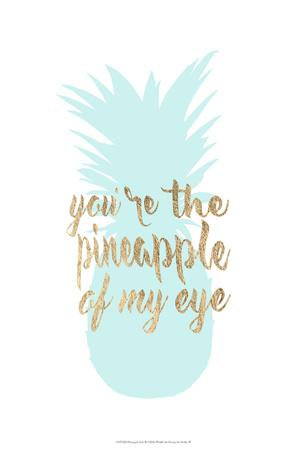 Pineapple Life II Print by  Studio W