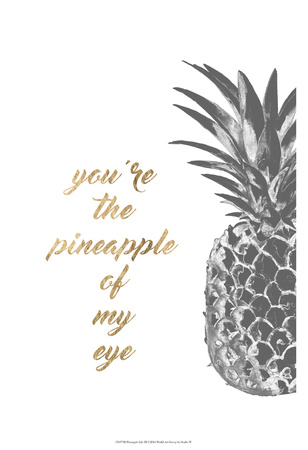 Pineapple Life III Prints by  Studio W
