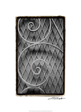 French Quarter Ironwork III Premium Giclee Print by Laura Denardo