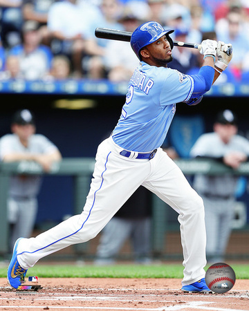 Alcides Escobar 2016 Action Photo