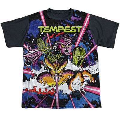 Youth: Atari: Tempest- Demon Horde Black Back T-shirts