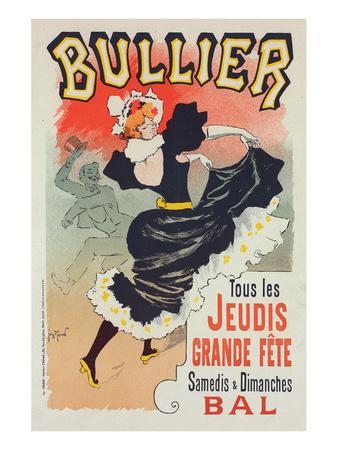 Bullier Tous les Jeudis Prints by Georges Meunier