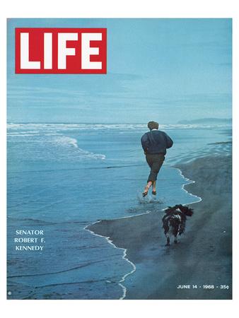 LIFE Senator Rober F. Kennedy Poster von  Anonymous