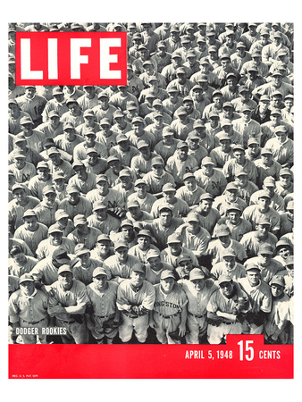 LIFE Dodgertown Rookies 1948 Posters by  Anonymous