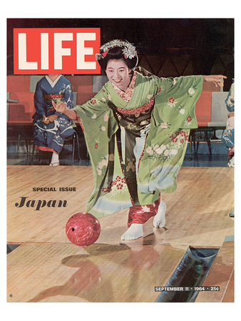 LIFE Kimono Lady - Japan 1964 Poster by  Anonymous!