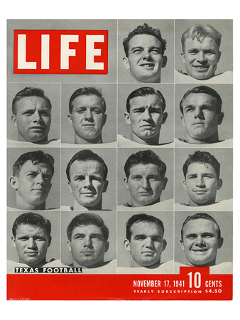 LIFE Texas Football 1941 Prints by  Anonymous