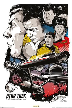 Star Trek: 50th Anniversary- Bold Voyage plakat