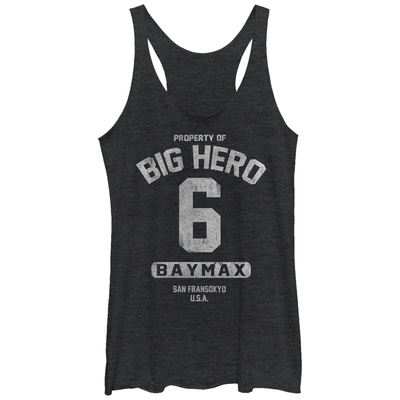 Juniors Tank Top: Big Hero 6- Property Of Baymax Tank Top