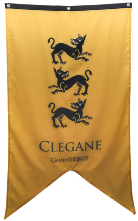 Game Of Thrones- House Clegane Banner Poster