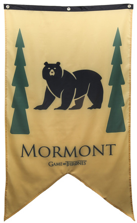 Game Of Thrones- House Mormont Banner Photo