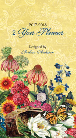 Botanical Gardens - 2017 Two-Year Planner Calendars