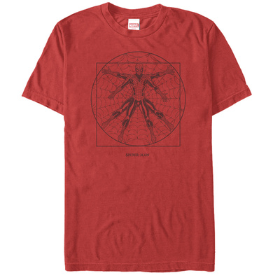 Spiderman- Vitruvian Spider Shirts