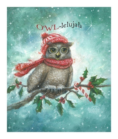 Owl-lelujah! Posters by Vickie Wade