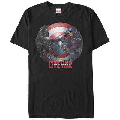 Captain America: Civil War- Panther Vs. Cap T-Shirt