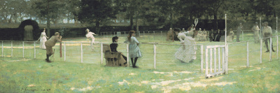 The Tennis Party Giclee Print by Sir John Lavery