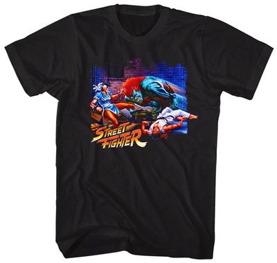 Street Fighter- Alley Fight T-Shirt