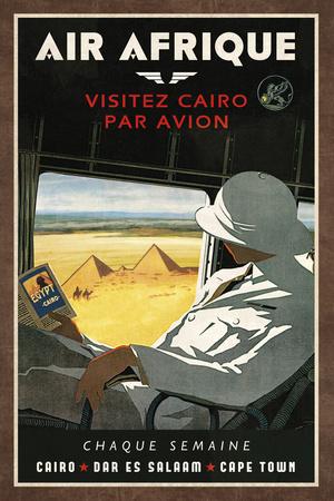 Air Afrique Plakater af  Collection Caprice