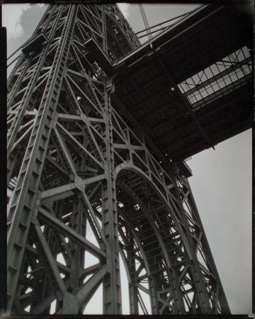 George Washington Bridge, Riverside Drive and 179th Street, Manhattan Giclee Print by Berenice Abbott