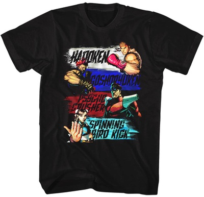 Street Fighter- Show Me Your Moves T-Shirts
