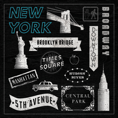 Sightseeing in New York Posters by Tom Frazier