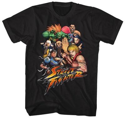 Street Fighter- Fighting Stars T-Shirt