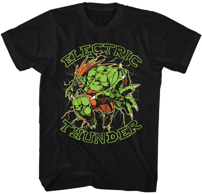 Street Fighter- Electric Thunder T-Shirts