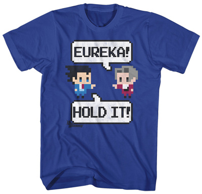 Ace Attorney- 8-Bit Debate T-Shirt