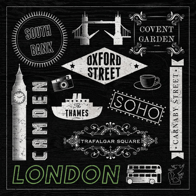 Sightseeing in London Prints by Tom Frazier