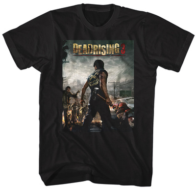 Dead Rising 3- Game Cover Art Shirts