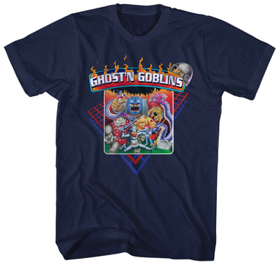 Ghost'n Goblins- Nes Game Cover T-Shirt