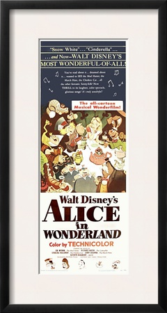 Alice in Wonderland, 1951 Poster