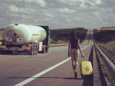 The Road.... Photographic Print by Igor Baranyuk