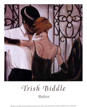 Bolero Posters by Trish Biddle