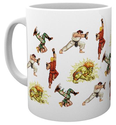 Street Fighter - Sprites Mug Tazza