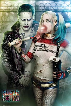 Suicide Squad- Joker & Harley Power Couple Pôster