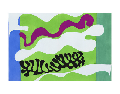 Lagoon, 1947 Art by Henri Matisse