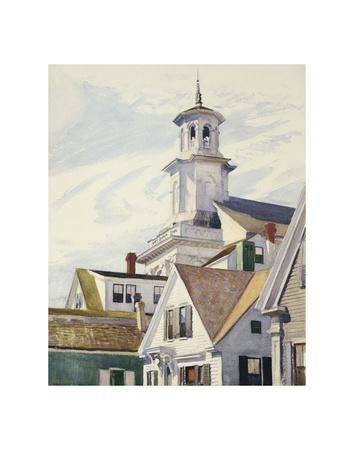 Methodist Church Tower, 1930 Prints by Edward Hopper