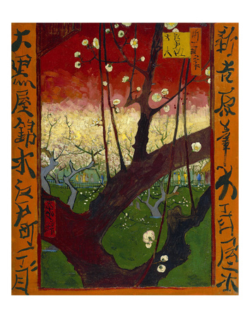 Flowering Plum Tree (after Hiroshige), 1887 Posters by Vincent van Gogh
