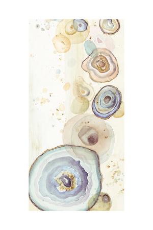 Tall Agates Flying Watercolor Posters by Patricia Pinto