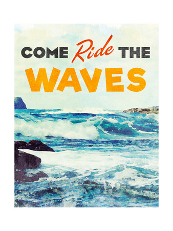 Sunshine and Waves II Posters by Bruce Nawrocke