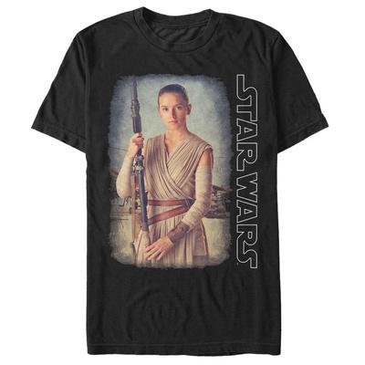 Star Wars: The Force Awakens- Rey On Jakku T-shirts