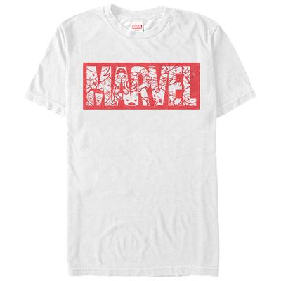 Marvel- Kawaii Block Logo T-Shirt