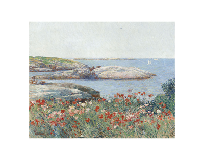 Poppies, Isles of Shoals, 1891 Prints by Childe Hassam