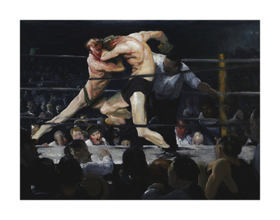 Stag at Sharkey's, 1909 Prints by George Bellows