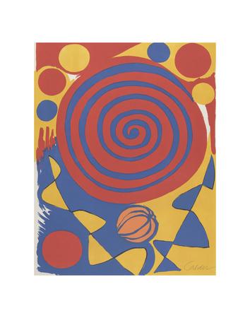 Untitled Prints by Alexander Calder