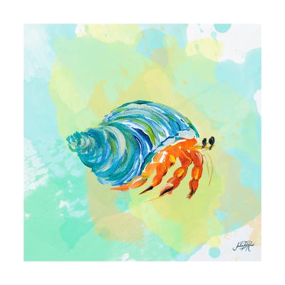 Watercolor Sea Creatures II Print by Julie DeRice