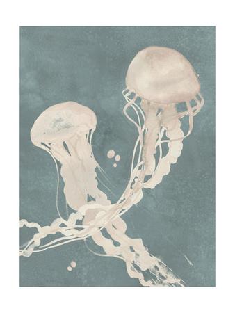 Jellyfish Dance II Posters by Grace Popp